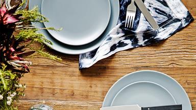 How to make shibori napkins
