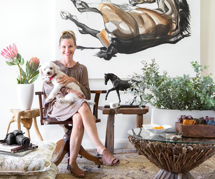 At home with artist Roslyn Nolen