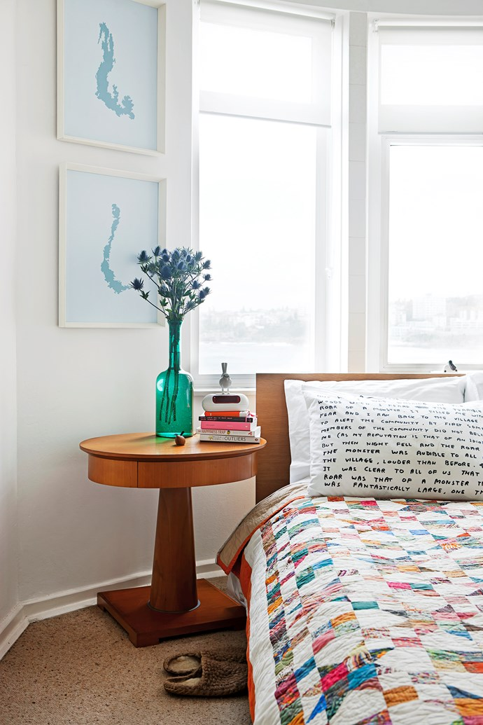 """Murray wakes up to a million dollar view every morning. His pillowcase is from [Third Drawer Down](https://www.thirddrawerdown.com/