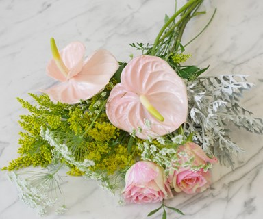 How to create a pretty posy