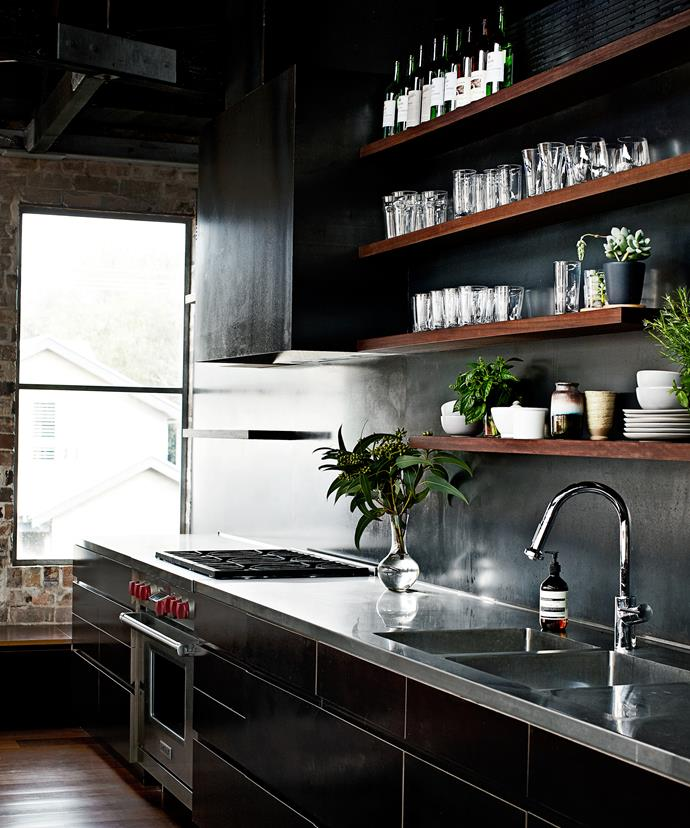 When it come to the kitchen, something low maintenance and high impact was at the top of the agenda.