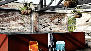 Merrick Watts' stylish and sleek warehouse conversion