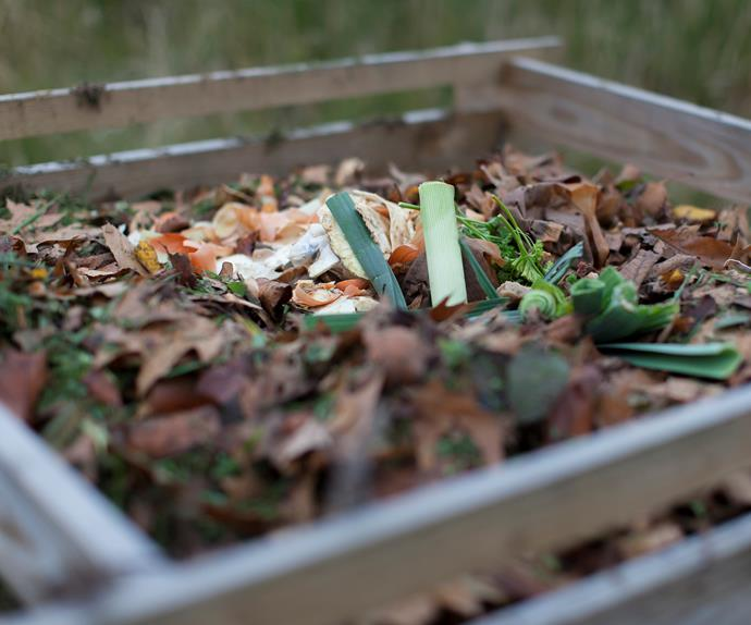 homemade compost bin