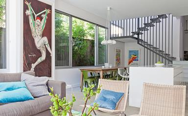 Semi-detached cottage gets a crisp & contemporary makeover