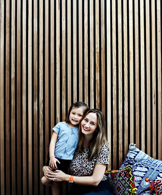 "Heidi Correa, owner of online retailer [Paddo To Palmy](https://paddotopalmy.com.au/?utm_campaign=supplier/|target=""_blank"") lives here with her husband Michael, a banker, and their children, Ella, 6, and Gisele, 4."
