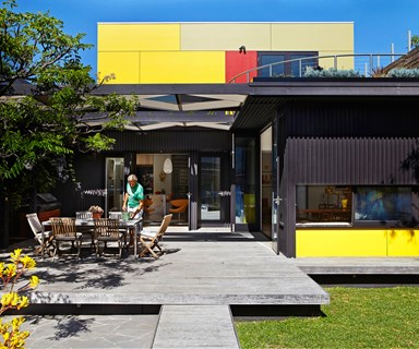 Heritage home gets a colourful update