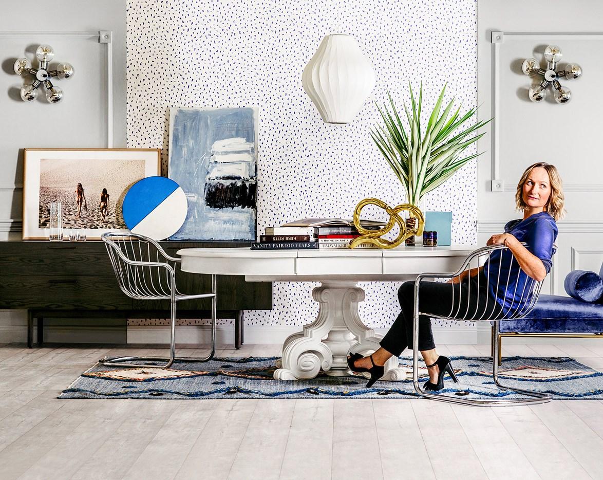 "[See how stylist Sarah Ellison creates her dream dining room >](http://www.homestolove.com.au/stylist-sarah-ellison-creates-her-dream-dining-room-3552|target=""_blank"") Photo: Brett Stevens / real living"