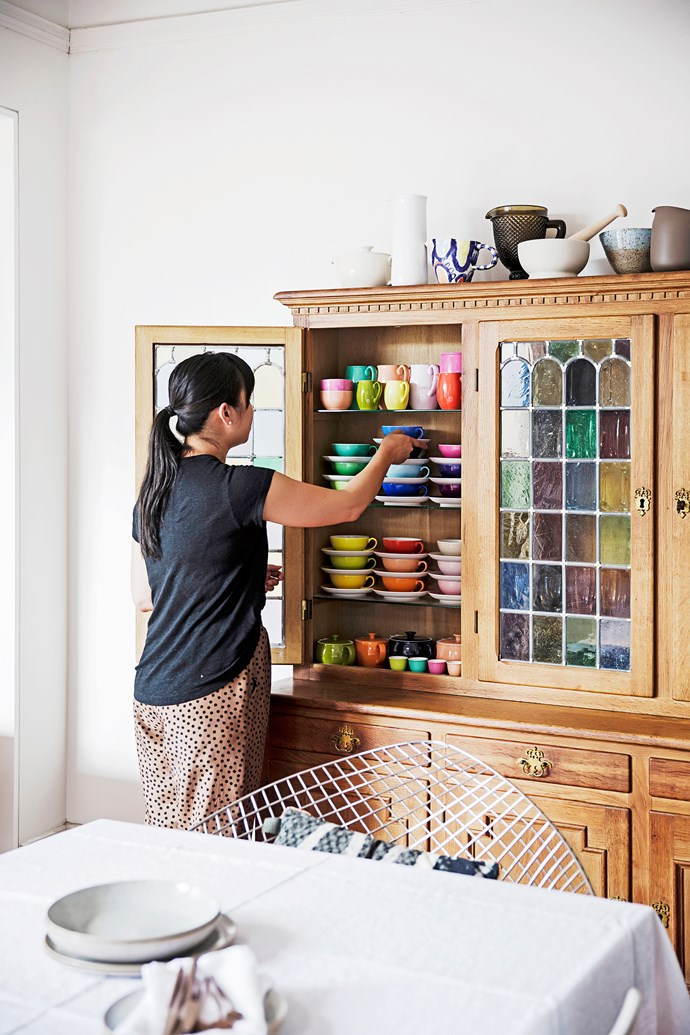 """""""I've collected crockery, glassware, cutlery and table linen for as long as I can remember."""""""