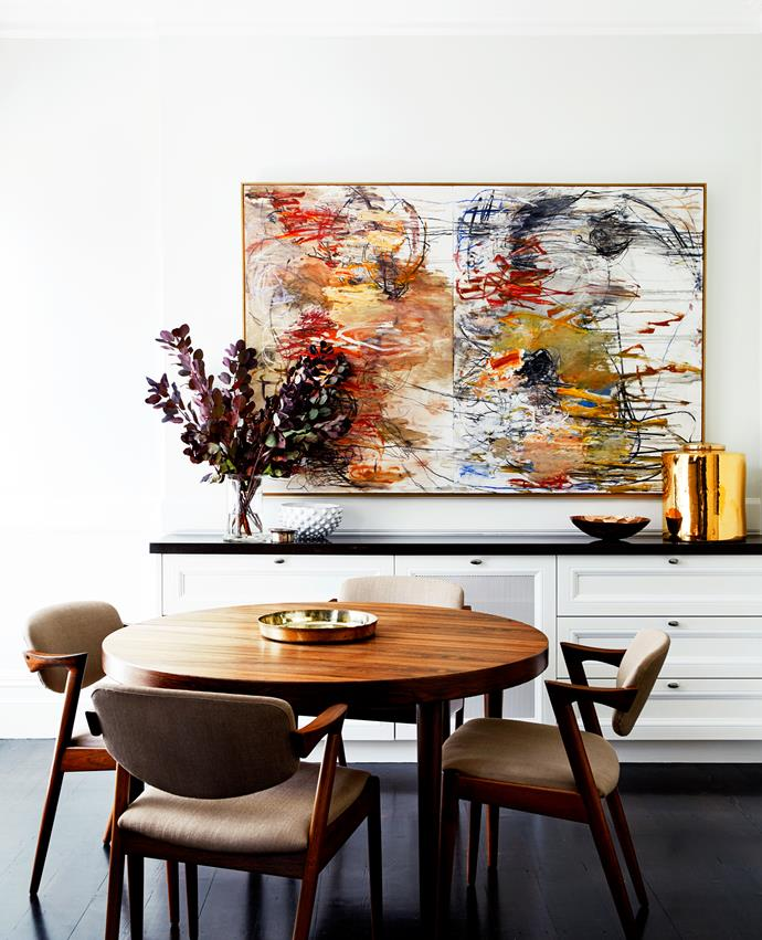 """Peter's brief? """"I wanted to contemporise the home as well as respect its integrity, to make it flow a little better and update the palettes and finishes to be modern, but not unsympathetic to the original,"""""""