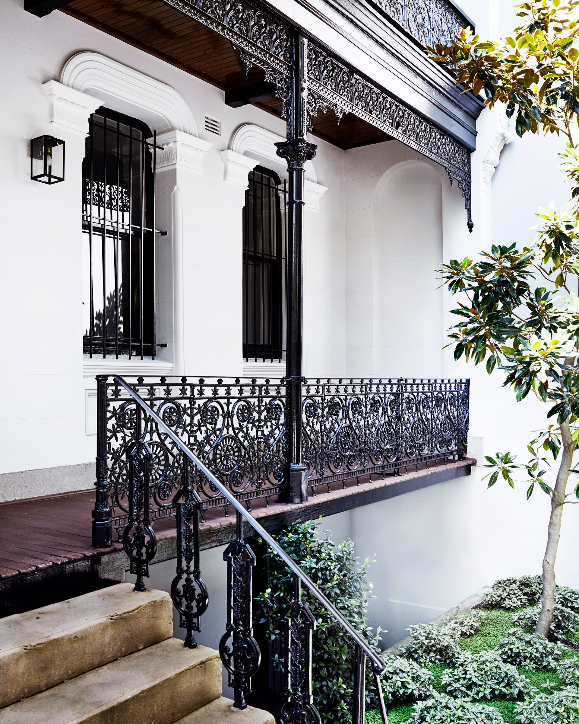 The grand proportions and preserved period detailing of this [historical Sydney terrace](http://www.homestolove.com.au/luxury-home-tour-historical-sydney-terrace-3559) sealed the deal for health professional owner Peter Stewart, who tackled the renovation largely on his own, with the help of a draughtsperson and a heritage architect. Photo: David Wheeler / Belle