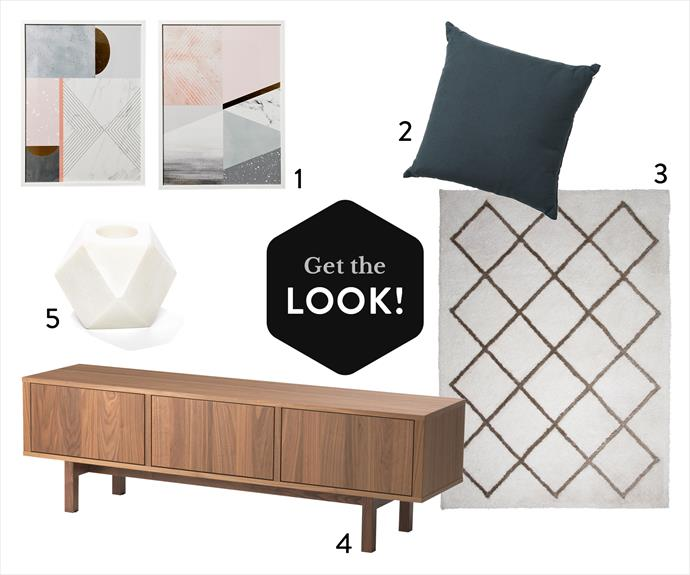 """**1.** Rebecca Judd Loves Home Republic """"Meteor"""" and """"Northern Lights"""" print, $169.95 each, from [Adairs](https://www.adairs.com.au/?utm_campaign=supplier/