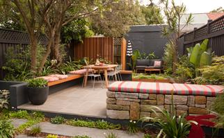inner city backyard transformation