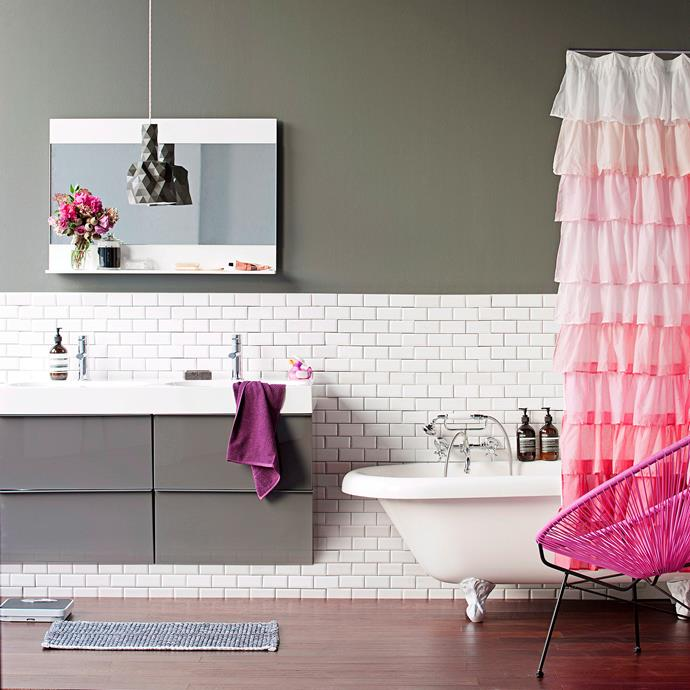 Invest in a brand-new vanity for fab, room-changing results. Photo: bauersyndication.com.au