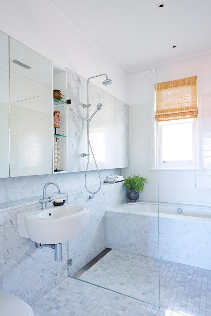 "Mould can easily gain a foothold in the bathroom unless you [take steps to prevent its growth](http://www.homestolove.com.au/how-to-prevent-mould-growth-in-your-home-2953|target=""_blank"")."