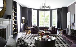layered and luxe interiors