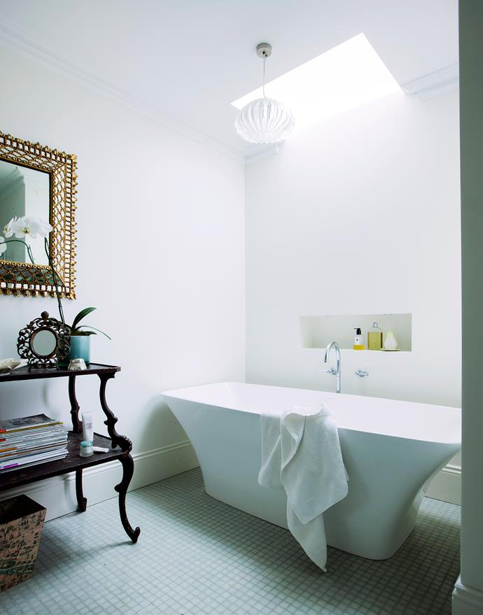 Natural light and clean lines enhance the spacious ensuite.