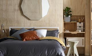 Modern contemporary bedroom makeover