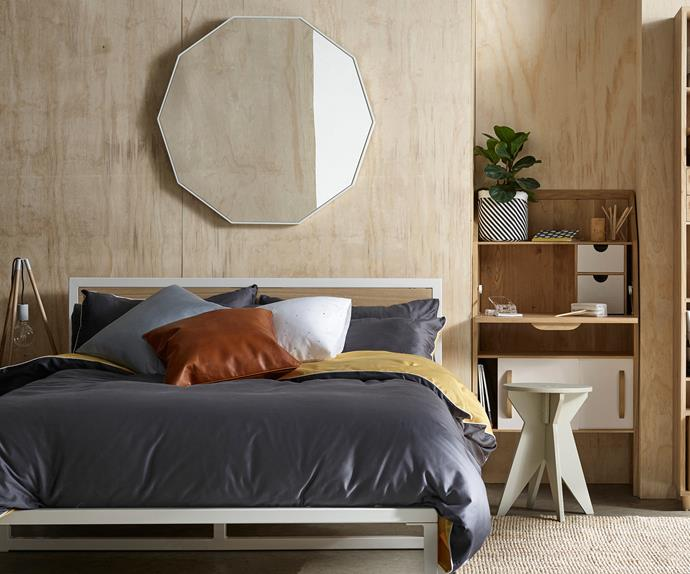 Modern contemporary bedroom makeover