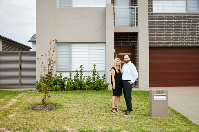 Rena and Matthew purchased land in Sydney's west from Mirvac and built their five-bedroom home with the company.