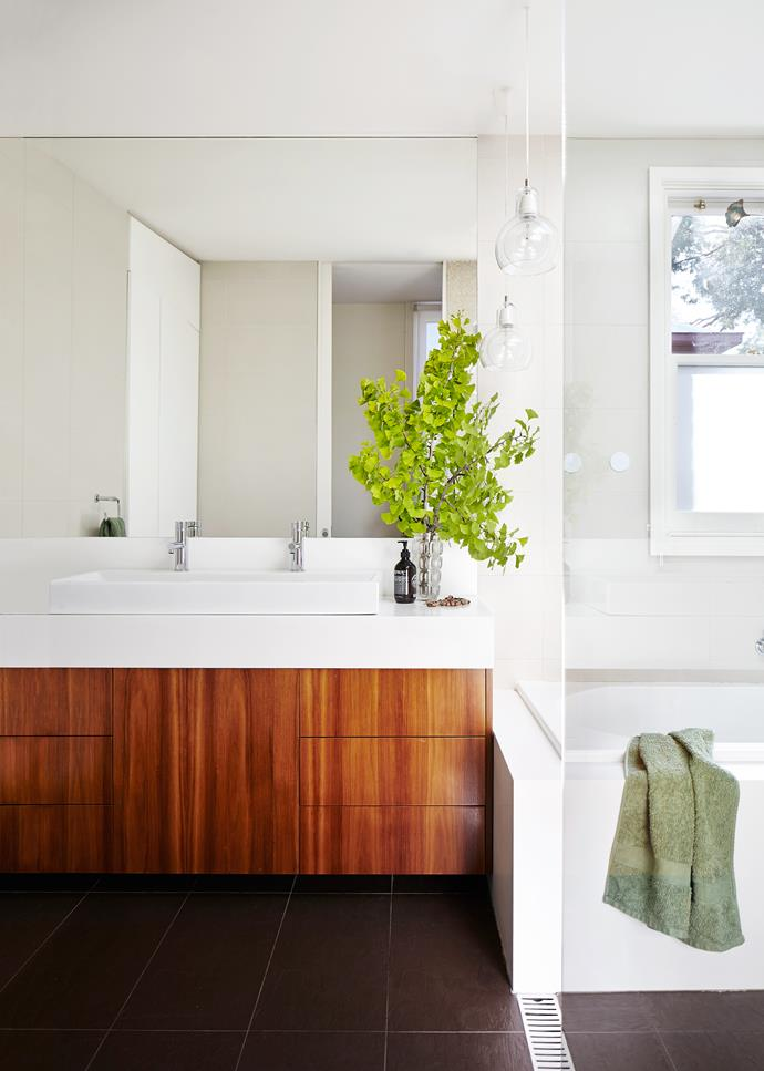 Generous proportions, hard-wearing finishes and plentiful natural light make for a practical and pretty space.