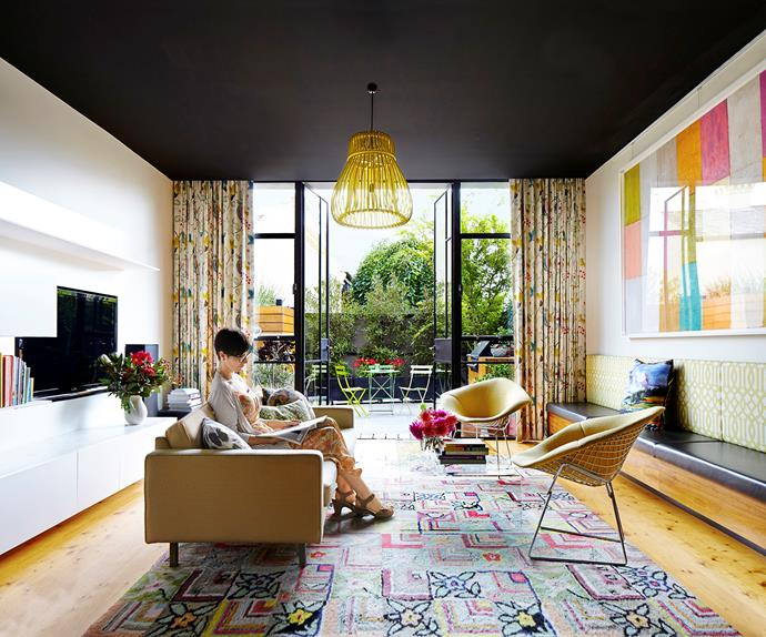 Victorian home gets colourful makeover