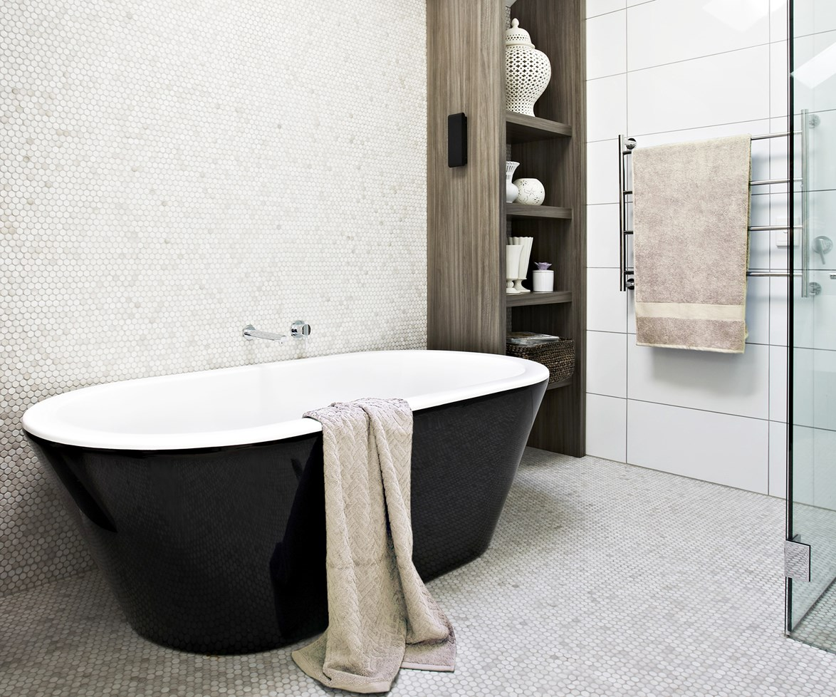 **Glistening grout:** No matter what people say, cleaning tile grout is not enjoyable in any way, shape or form. These [effective grout cleaning solutions](http://www.homestolove.com.au/how-to-clean-tile-grout-3647) will help you get the job done fast so you can get on with more important things in life. Photo: Armelle Habib / bauersyndication.com.au