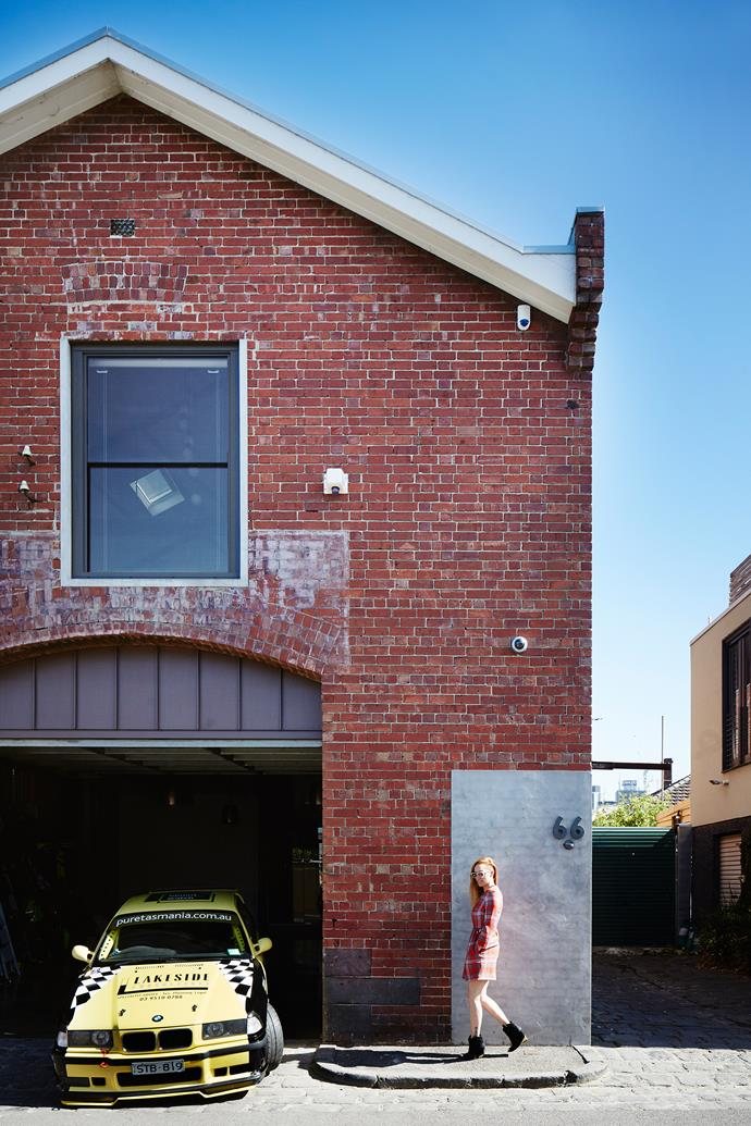Although the building was untouched for decades, Jessica (pictured) could see how her clients had easily fallen in love with the raw and rare nature of the warehouse and its central location. All it needed was some serious TLC.