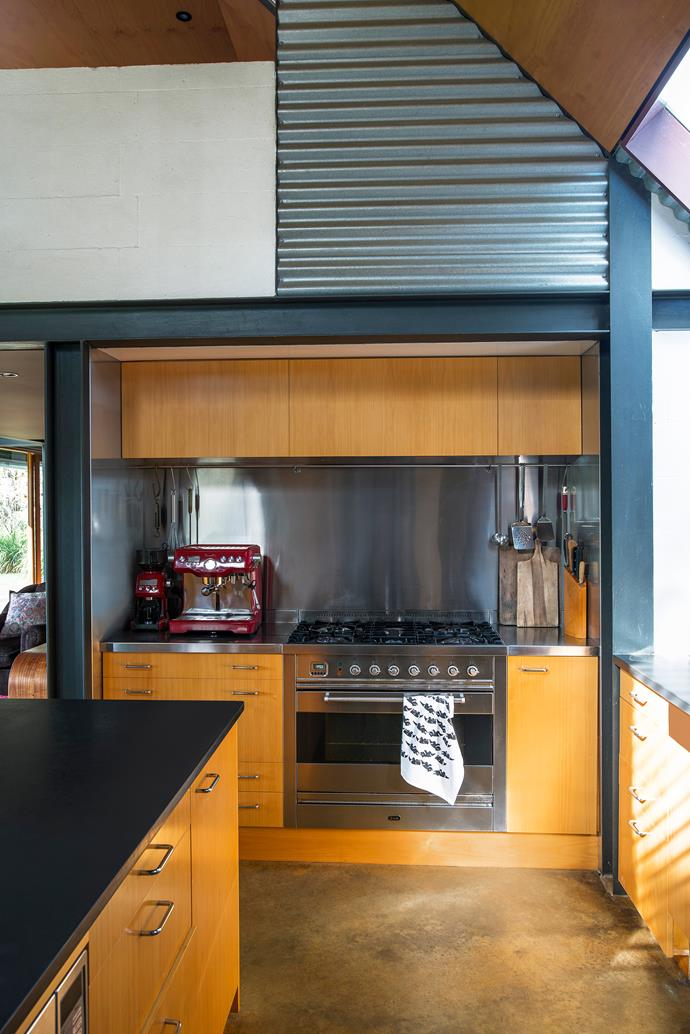 The kitchen is a favourite spot for Wendy, a passionate cook.