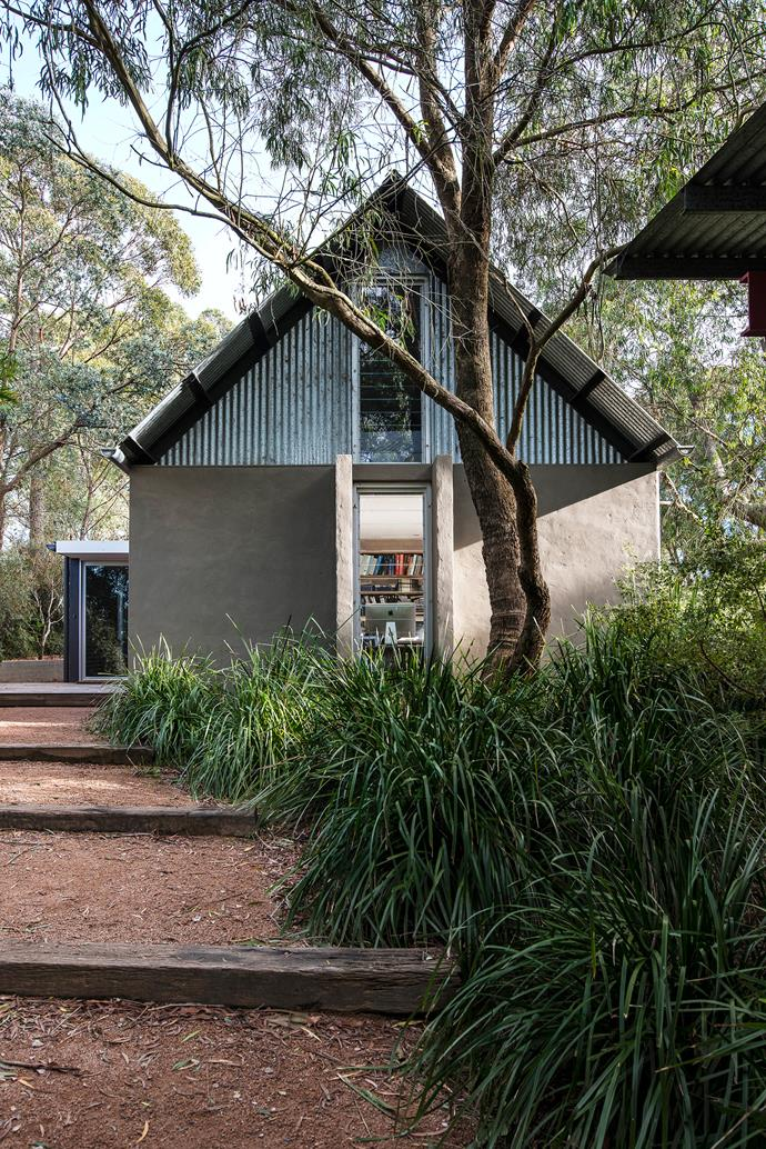 """For ease of maintenance, the [exterior](http://www.homestolove.com.au/18-home-facades-to-inspire-2925