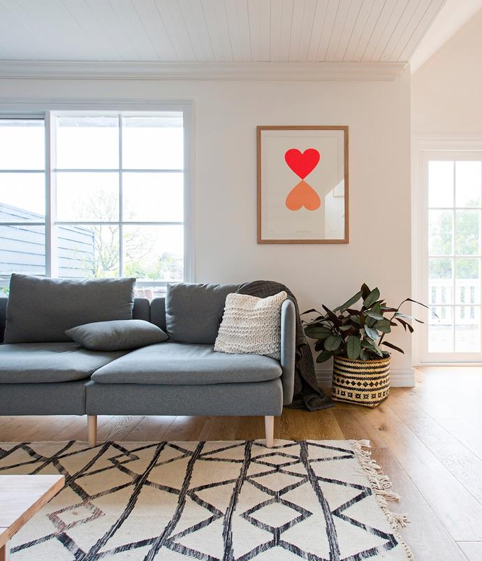 """Emily had washable covers custom-made for her [Ikea](http://www.ikea.com/au/en/?utm_campaign=supplier/