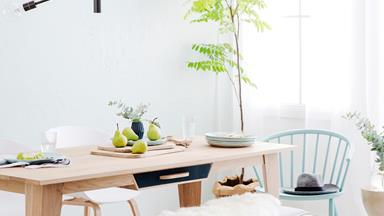 How to style a relaxed dining area