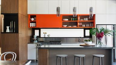 Spice up the kitchen with a dash of colour