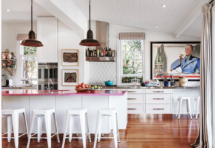 """It was crucial that the kitchen worked in terms of everyday life as well as being beautiful,"" says the home's interior designer [Briony Fitzgerald](http://www.brionyfitzgeralddesign.com.au/?utm_campaign=supplier/