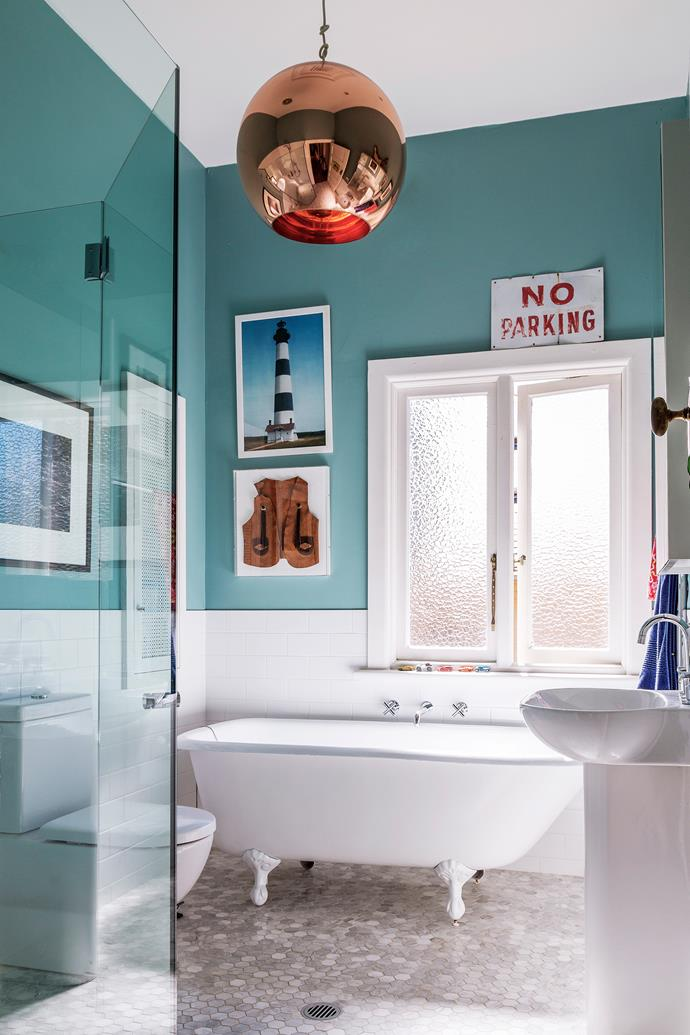 """I like bathrooms to be a bit quirky, not too serious,"" says the owner."