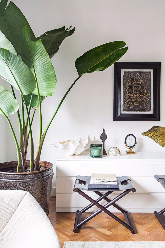 "**Go green** An [indoor plant](https://www.homestolove.com.au/the-best-indoor-plants-to-suit-your-style-6625|target=""_blank"") will transform your space – and your headspace. Plants are known to purify the air, improve concentration and balance humidity levels, making them a worthy style statement. If you have the room, go for a [large floor plant](https://www.homestolove.com.au/large-indoor-plants-6637