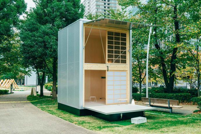 The Aluminum Hut. Photo: Muji
