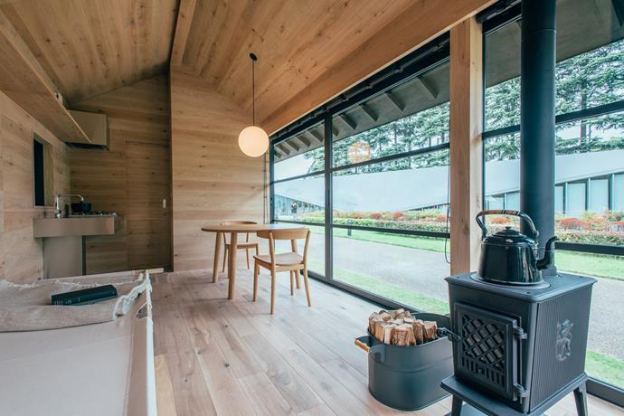 The Wooden Hut. Photo: Muji