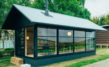 The masters of minimalism at Muji design prefab cabins