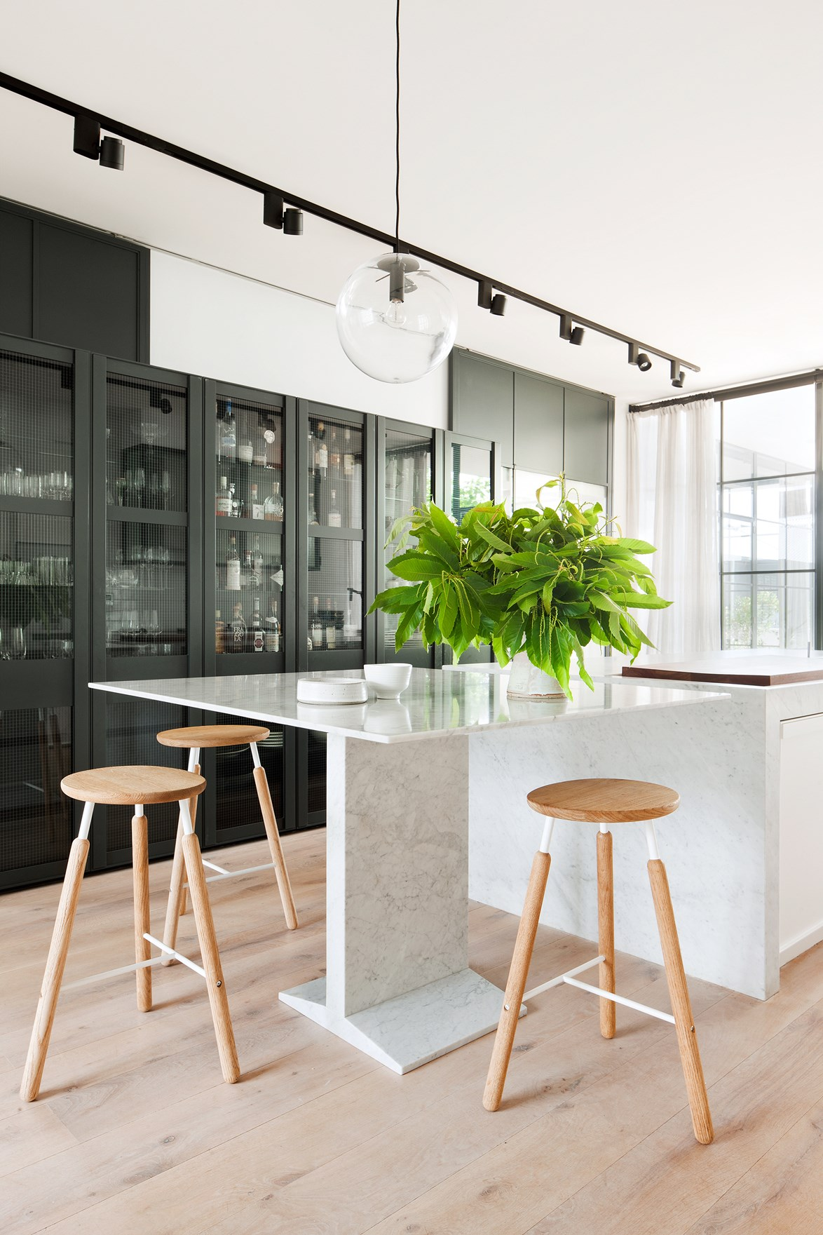 "What was once an [inner-city Melbourne pub](https://www.homestolove.com.au/last-drinks-luxe-melbourne-pub-conversion-3749|target=""_blank"") is now a family home with sophisticated Scandi style. The expansive rooms allowed architect [Hecker Guthrie](https://www.heckerguthrie.com/