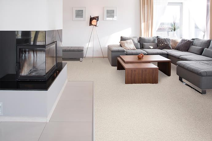 """**Stick to soft floorings.** Carpet feels soft on little hands and feet, but it's also incredibly durable making it an obvious choice for families. In practical terms, it's easy to clean and can feature in-built stain protection. Plus, it's versatile. From fibre type to colour, purified strands to softness, you can select one that suits your home, lifestyle and budget. Check out the [Choices Flooring Serenity carpet collection](http://www.choicesflooring.com.au/serenity-carpet/
