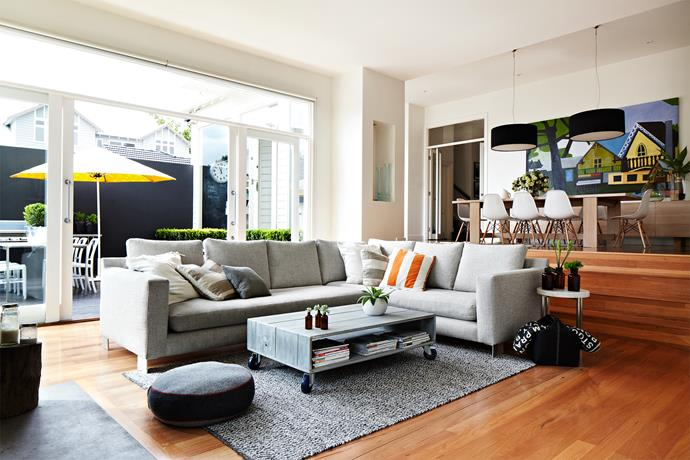 """""""I wanted the house to be comfy and relaxed. I would hate someone to feel like they couldn't sit down,"""" says Janita."""