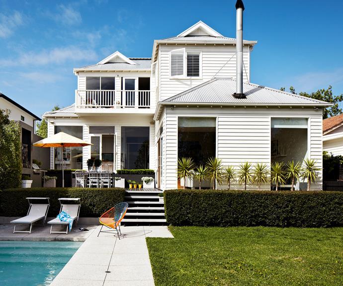 Edwardian house renovation Melbourne