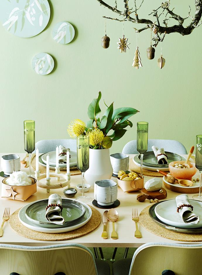 This shade of green is bang-on trend this year. Add it to your home with cushions or vases. Photo: Scott Hawkins / bauersyndication.com.au.