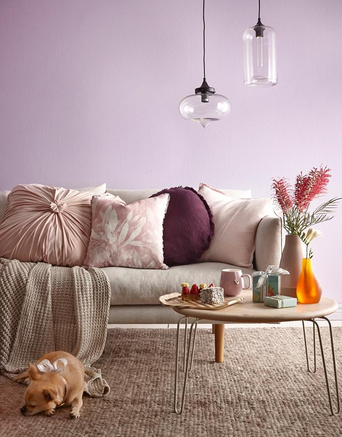 Soft pinks are a popular favourite and easy to incorporate into any home. Photo: Will Horner / bauersyndication.com.au.