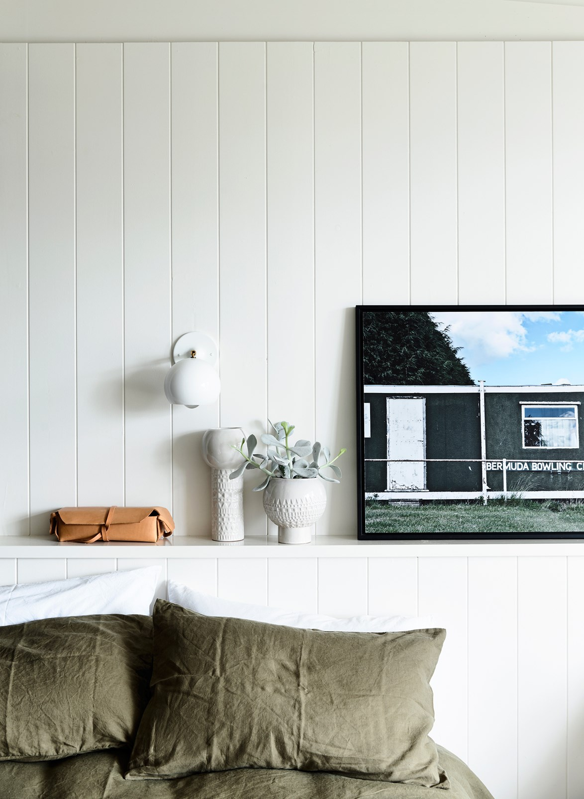 """When it came to [making over her beach shack](https://www.homestolove.com.au/beach-shack-gets-unique-makeover-3779