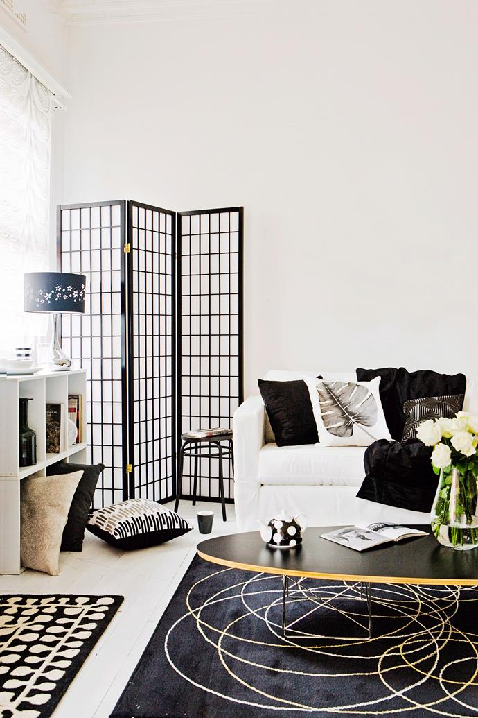 Freestanding screens make a great focal point. Photo: bauersyndication.com.au