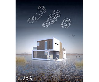 separable floating home