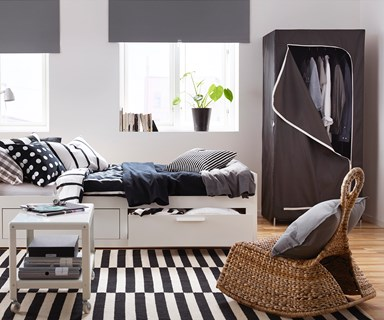 Temporary storage solutions that don't look out of place