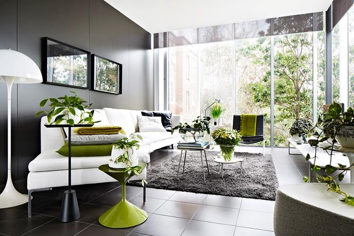 """""""Treat green as a neutral. Weave groupings of plants throughout, complementing them with gestures of seasonal florals,"""" says Paul Hecker, interior designer at [Hecker Guthrie](http://www.heckerguthrie.com/?utm_campaign=supplier/