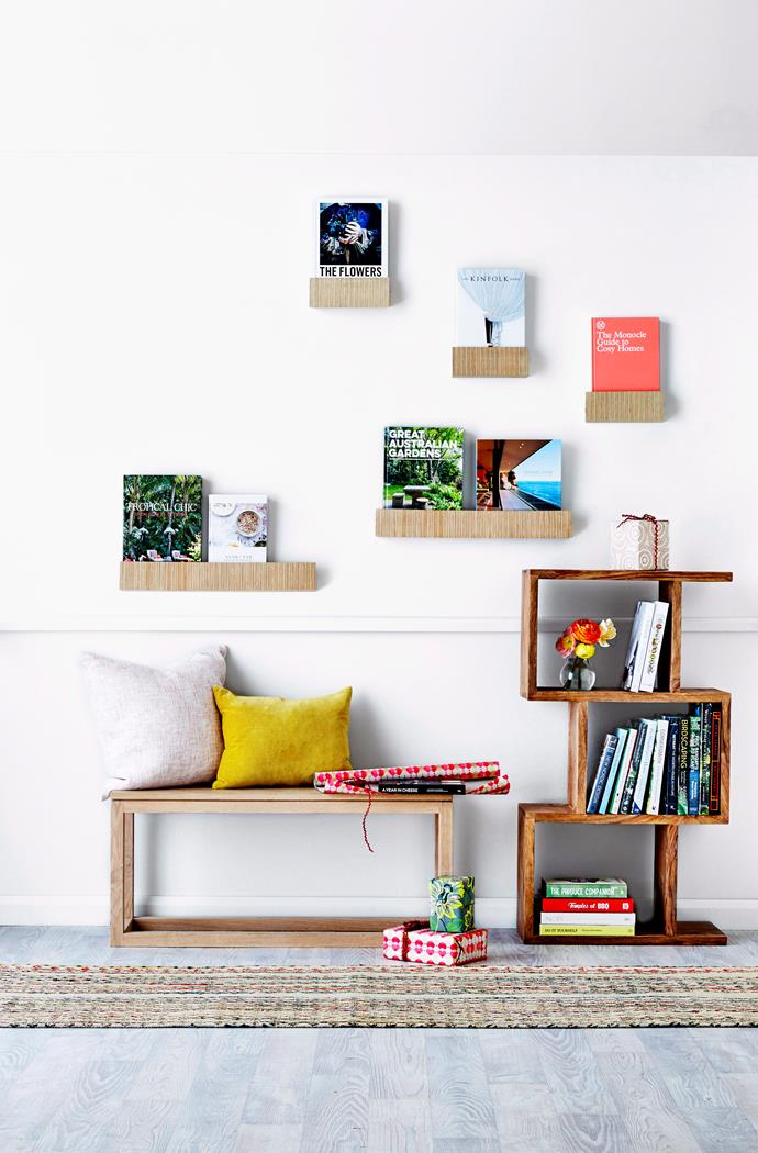 Try putting your favourite items on display for a more personal welcome! Photo: Ben Hansen / bauersyndication.com.au.
